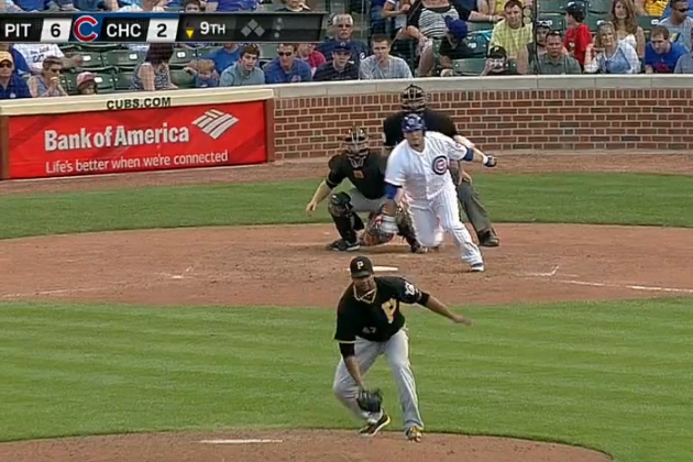 Liriano Snags Grounder Between His Legs