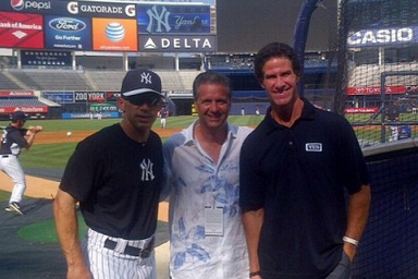 Cal Hangs with the Yankees