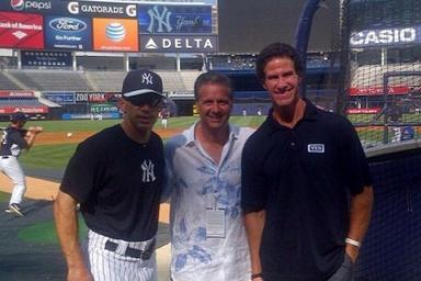 Cal Hangs with the Yankees