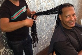 Manny Gets His Dreads Chopped