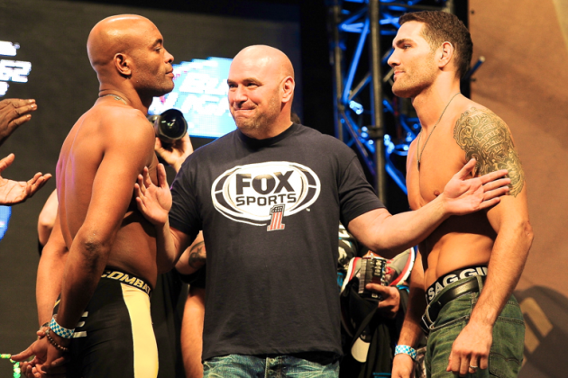 UFC 162 Weigh In Results: Anderson Silva vs Chris Weidman Fight Card