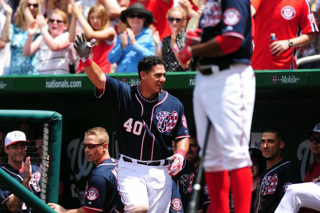 Washington's Wilson Ramos 'Frees' Nationals from Losing on Independence Days