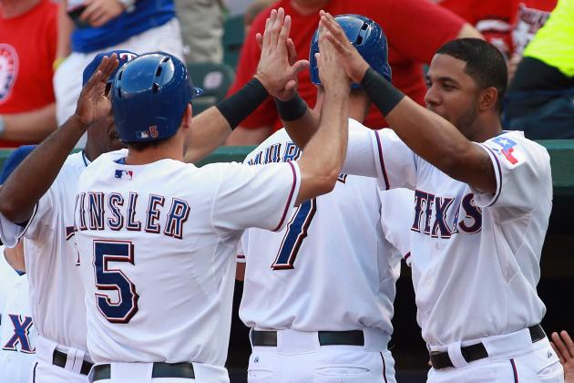 Rapid Reaction: Rangers 10, Astros 5