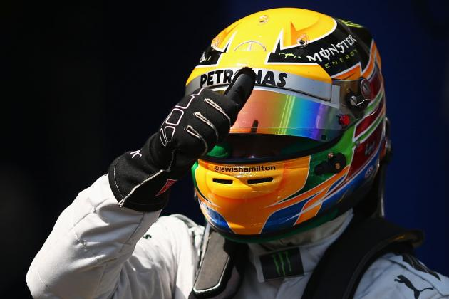 Hamilton on Pole in Germany
