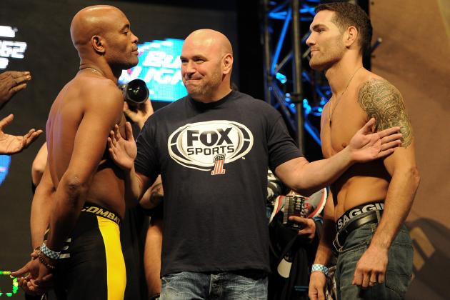 UFC 162: Breaking Down Middleweight Main Event by the Numbers