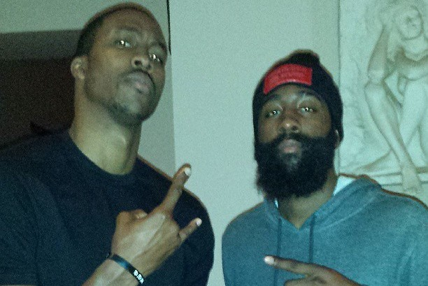 Dwight Howard and James Harden Use Instagram to Show Off Rockets' New Star Pair