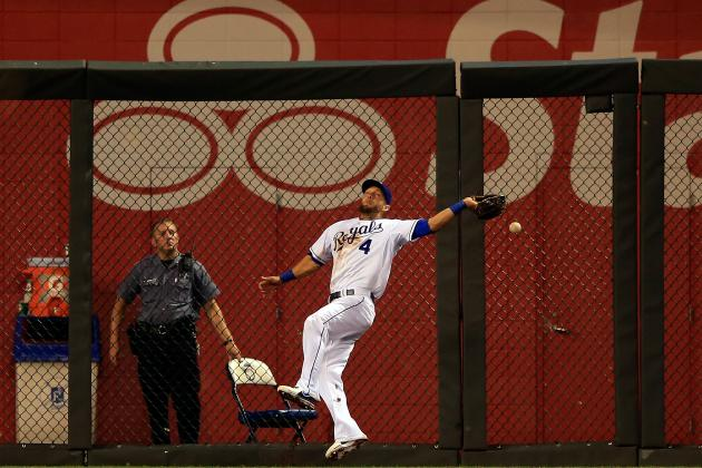 Alex Gordon Back in Royals' Lineup Three Days After Nasty Fall