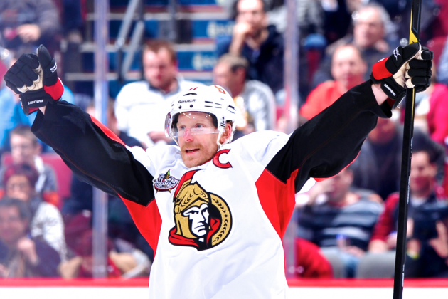 Daniel Alfredsson Signing Puts Detroit Red Wings in Stanley Cup Contention