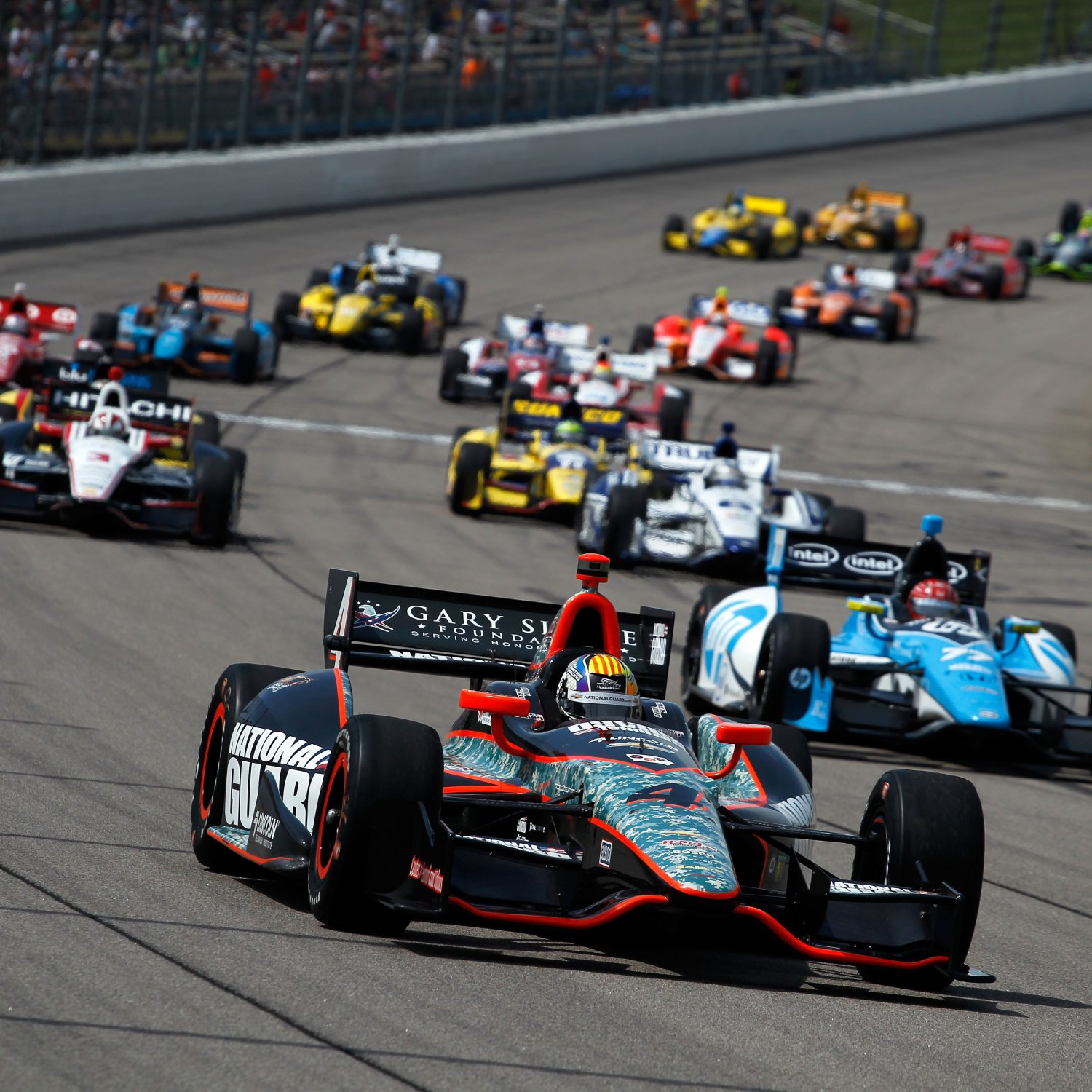 Pocono INDYCAR 400 2013: Start Time, Lineup, TV Schedule