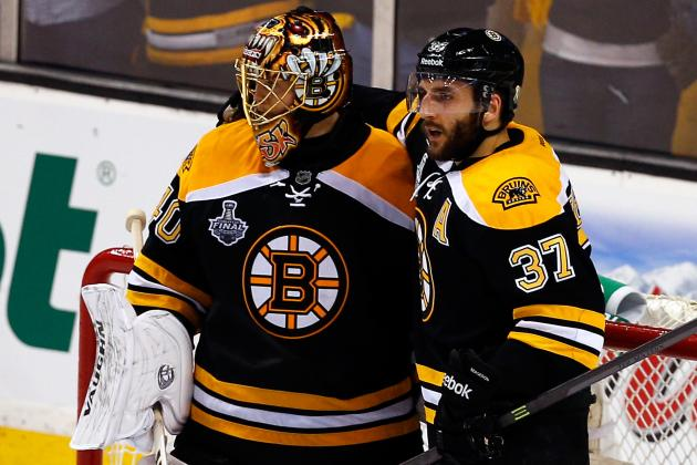 Bruins 'Close' to Deals for Bergeron, Rask