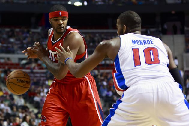 Josh Smith Signing Bolsters Detroit Pistons' Playoff Hopes