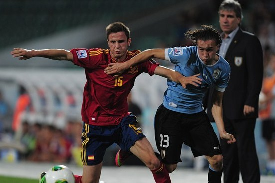 Late Uruguay Goal Eliminates Spain from the U-20 World Cup