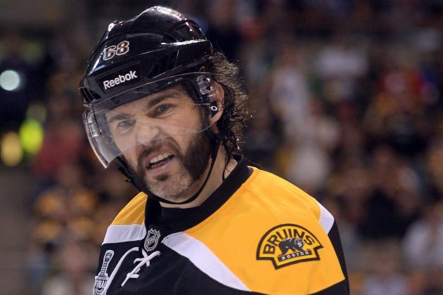 Jaromir Jagr Rumors: Latest on Teams in Pursuit of 41-Year-Old Free-Agent Winger
