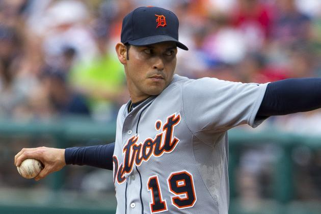 Tigers' Anibal Sanchez Solid in Return from DL