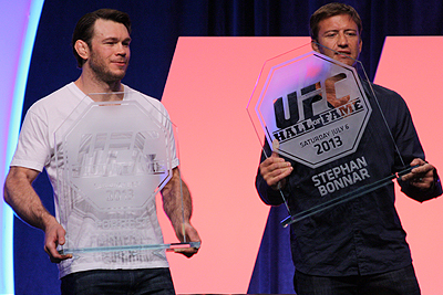 Forrest Griffin and Stephan Bonnar Inducted Into the UFC Hall of Fame