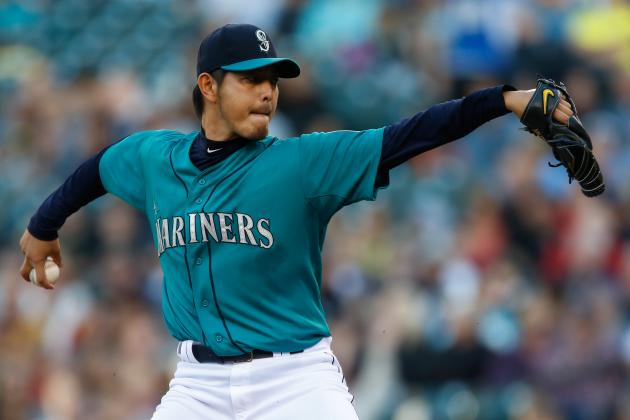 Felix, Iwakuma Named to AL All-Star Staff