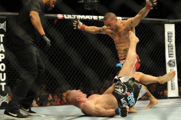 UFC 162 Results: Cub Swanson Proves He Deserves Title Shot with KO Win