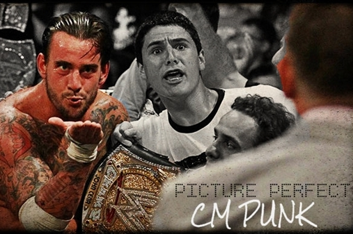 Picture Perfect: CM Punk Blows Vince McMahon a Kiss at Money In The Bank 2011