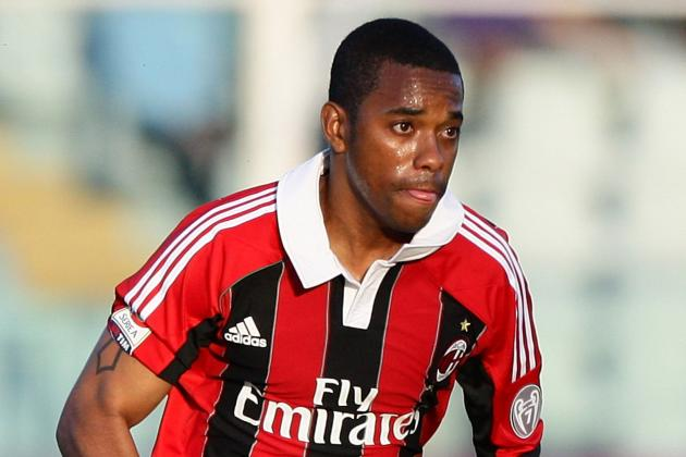 Santos Chief Rodrigues Maintains AC Milan Talks over Robinho