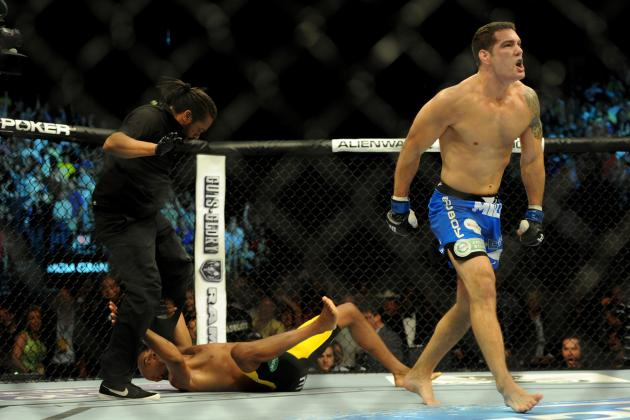 UFC 162: What Went Right for Chris Weidman