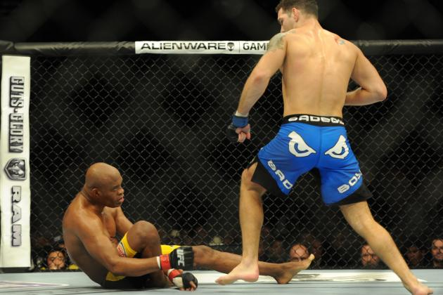 Anderson Silva Knocked Out by Chris Weidman Due to Lackluster Effort