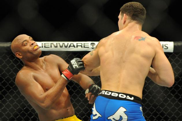 Silva vs. Weidman Results: Breaking Down the Combination That Ended the Fight
