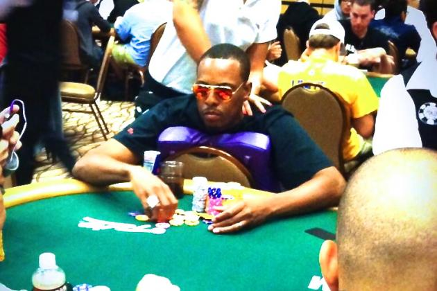 Paul Pierce Participates in World Series of Poker's Pot-Limit Omaha Tournament