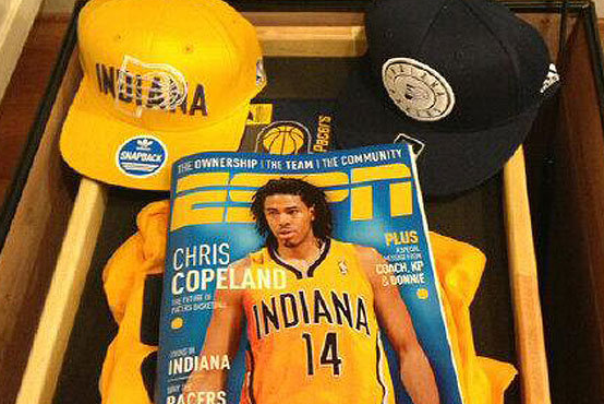 Pacers Photoshopped Copeland into an ESPN Mag Cover