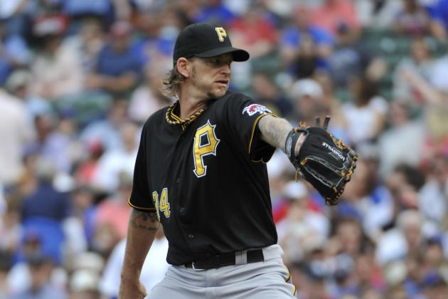 A.J. Burnett Makes Return vs. Cubs