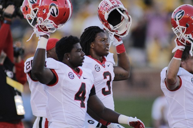 Georgia Tailbacks Show Quality with Quantity