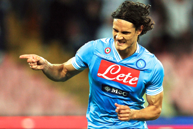 Report: Edinson Cavani to Turn Down Chelsea for Paris Saint-Germain