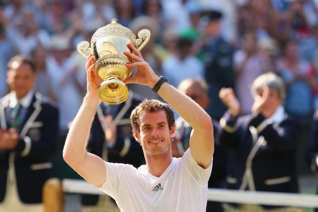 Wimbledon Tennis 2013 Men's Final: Win Makes Murray Best Men's Player