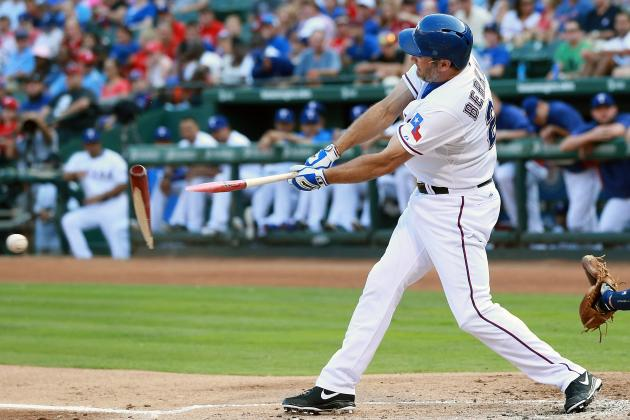 Rangers Place Lance Berkman on DL