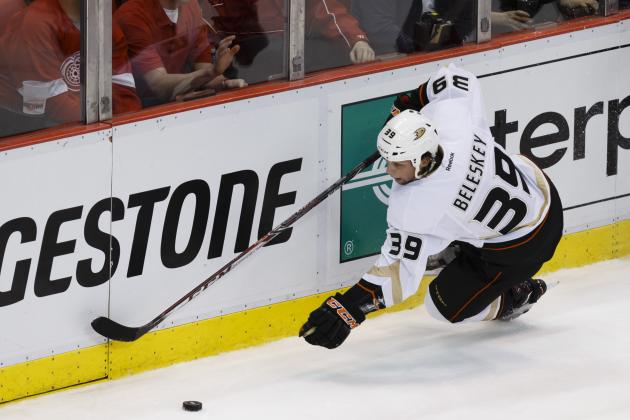 Ducks Sign Beleskey to Two-Year Contract Extension