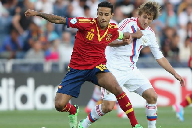 Thiago Alcantara Would Make Manchester United Favorites to Repeat as EPL Champs
