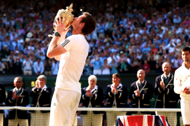 Andy Murray at Wimbledon 2013: Britain Finally Has Its Hero