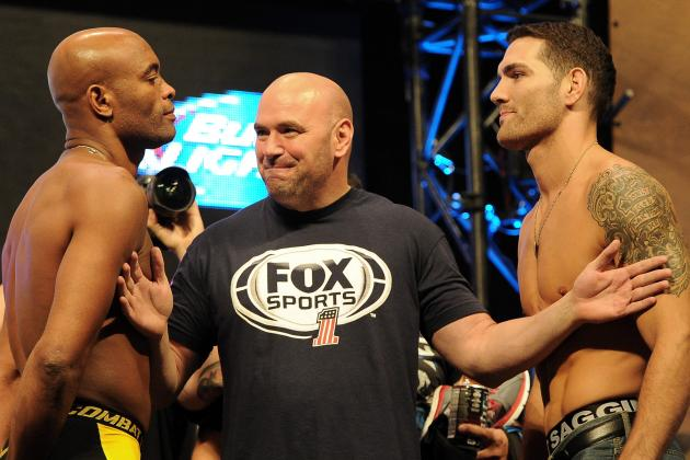 Dana White: Chris Weidman-Anderson Silva II is Next, Belfort Not Getting Shot