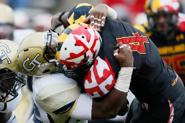 Terps RB Suspended After Arrest