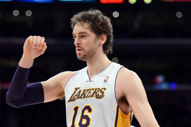 Lakers to Feature Pau Gasol at Center Without Dwight Howard