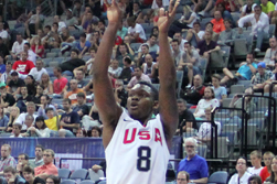 Donovan and Frazier Win Gold with USA Basketball