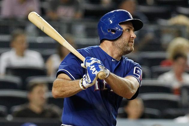 Rangers' Nick Tepesch, Lance Berkman Heading to DL