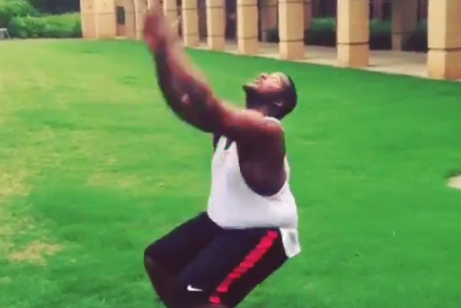 Video: 305-Pound Georgia DT Does Back Handsprings