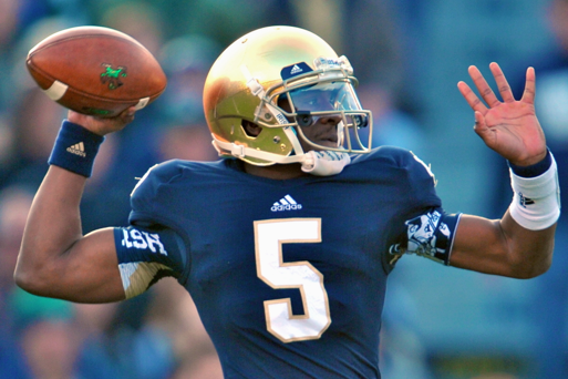 QB Everett Golson Will Return to Notre Dame Next Spring