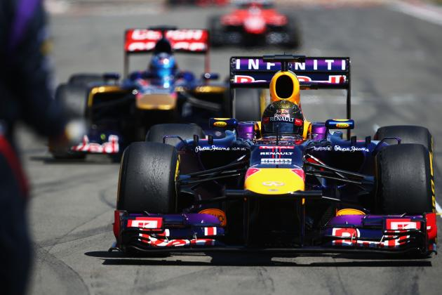 Grand Prix F1 Germany 2013: Top Contenders Taking Shape at Season's Midpoint
