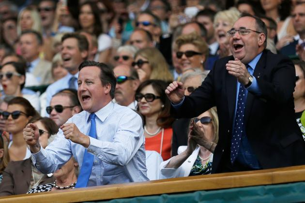 David Cameron Says Andy Murray Deserves Knighthood for 2013 Wimbledon Win