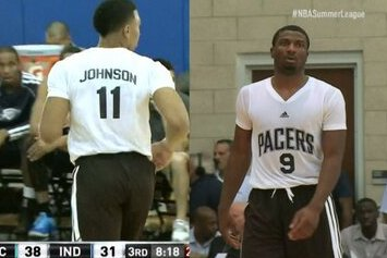 Pacers Debut Sleeved Jerseys at Summer League