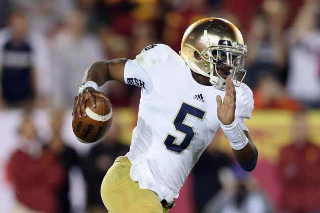 Everett Golson Says He'll Return to Notre Dame, and That's the Right Decision