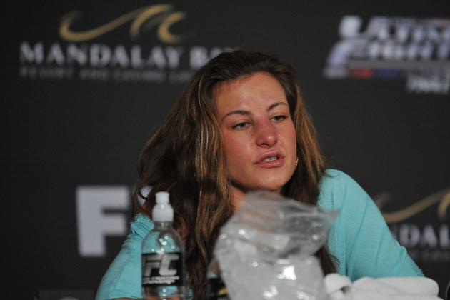 Miesha Tate Says She Will Shoot Herself in the Face if Ronda Rousey Armbars Her