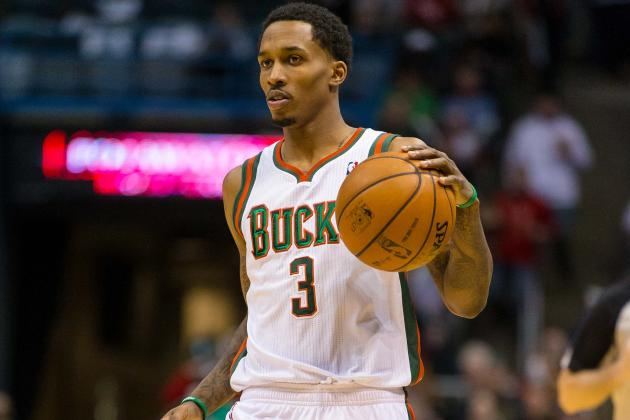 Brandon Jennings Sign-and-Trade Discussed by Bucks and Hawks