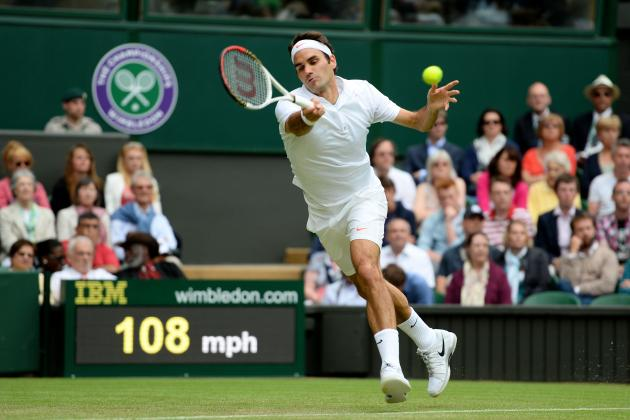 Roger Federer's No. 5 Ranking Highlights Parity in Modern Tennis